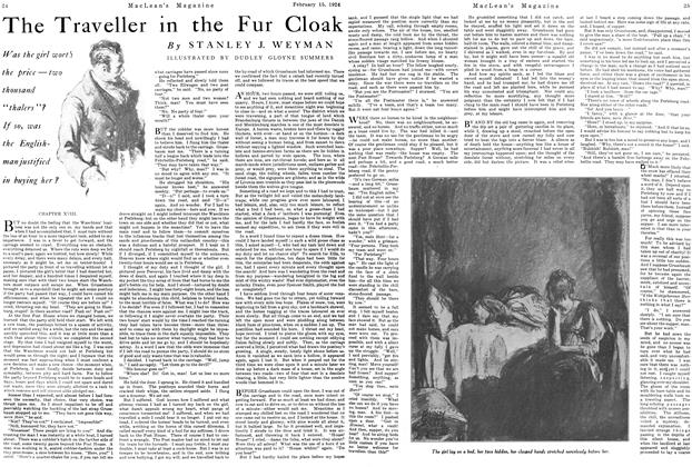 Article Preview: The Traveller in the Fur Cloak, February 1924 | Maclean's