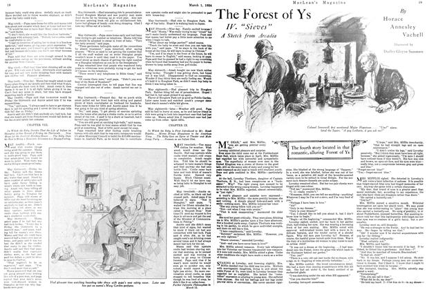 Article Preview: The Forest of Ys, March 1924 | Maclean's