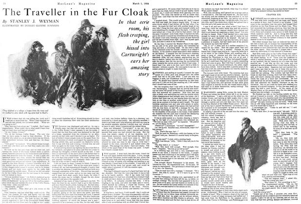 Article Preview: The Traveller in the Fur Cloak, March 1924 | Maclean's