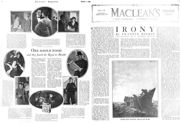 Article Preview: IRONY, March 1924 | Maclean's