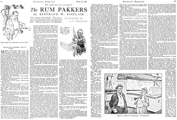 Article Preview: The RUM PAKKERS, March 1924 | Maclean's