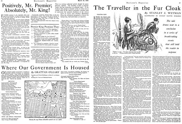 Article Preview: The Traveller in the Fur Cloak, March 1924   Maclean's