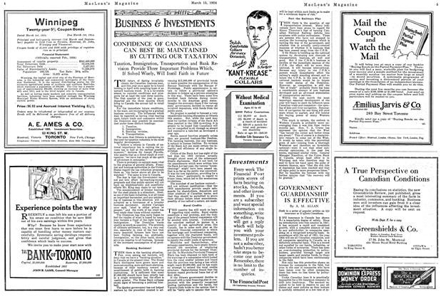 Article Preview: GOVERNMENT GUARDIANSHIP IS EFFECTIVE, March 1924   Maclean's