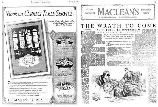 Article Preview: THE WRATH TO COME, March 1924   Maclean's