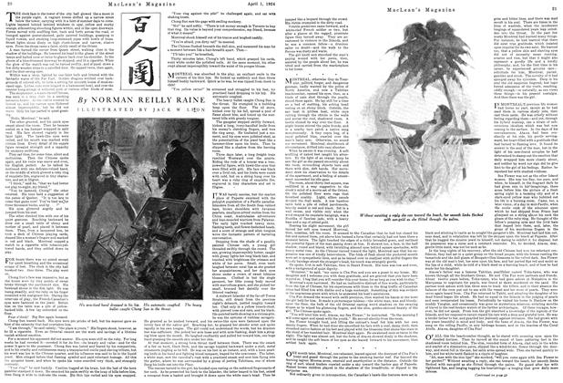 Article Preview: THE CHINESE RING, April 1924 | Maclean's