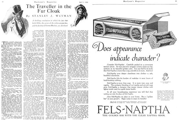 Article Preview: The Traveller in the Fur Cloak, April 1924 | Maclean's