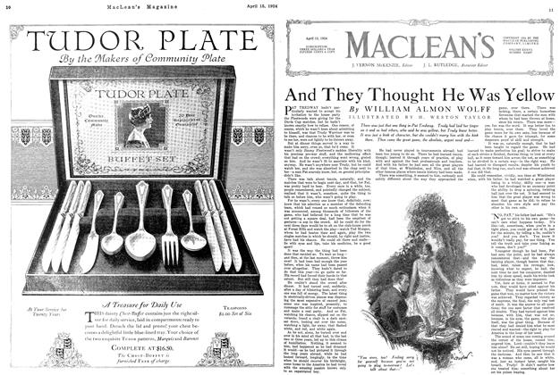 Article Preview: And They Thought He Was Yellow, April 1924 | Maclean's