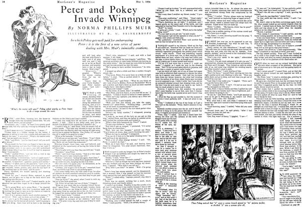 Article Preview: Peter and Pokey Invade Winnipeg, May 1924 | Maclean's