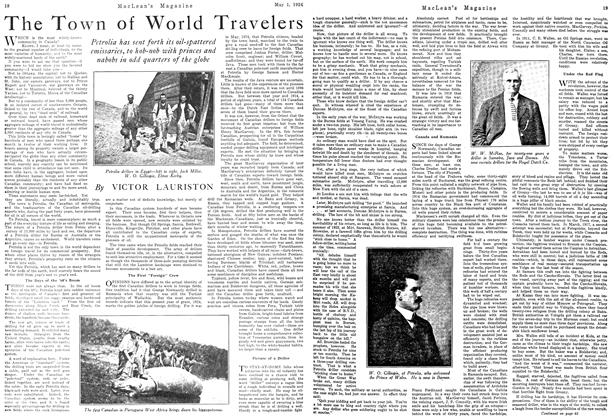 Article Preview: The Town of World Travelers, May 1924 | Maclean's