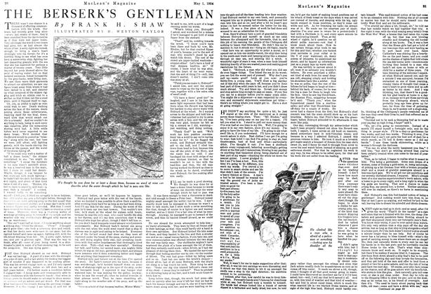 Article Preview: THE BERSERK'S GENTLEMAN, May 1924 | Maclean's