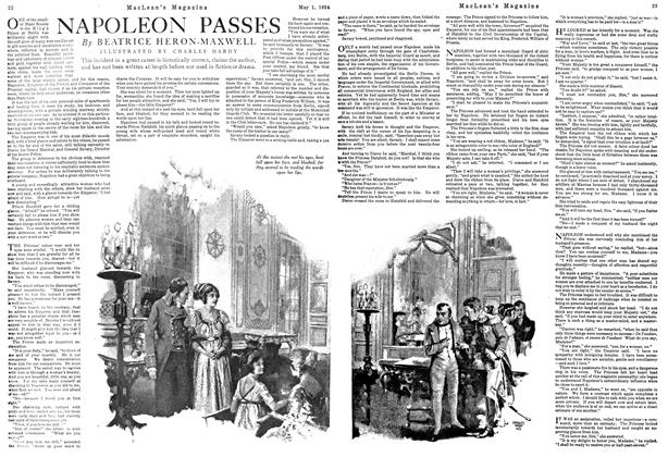 Article Preview: NAPOLEON PASSES, May 1924 | Maclean's