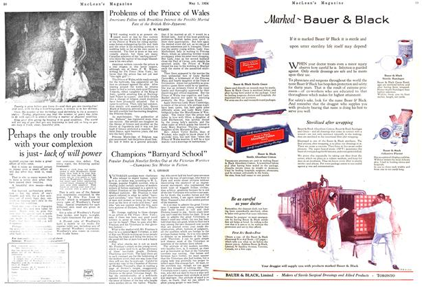 Article Preview: Problems of the Prince of Wales, May 1924 | Maclean's