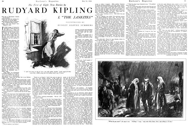 Article Preview: RUDYARD KIPLING, May 1924 | Maclean's