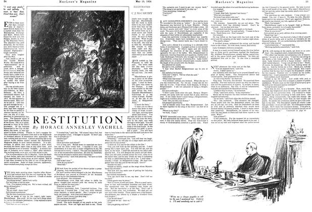 Article Preview: RESTITUTION, May 1924 | Maclean's