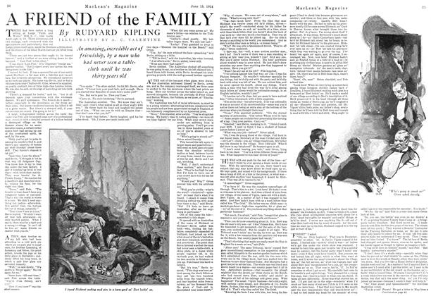 Article Preview: A FRIEND of the FAMILY, June 1924 | Maclean's
