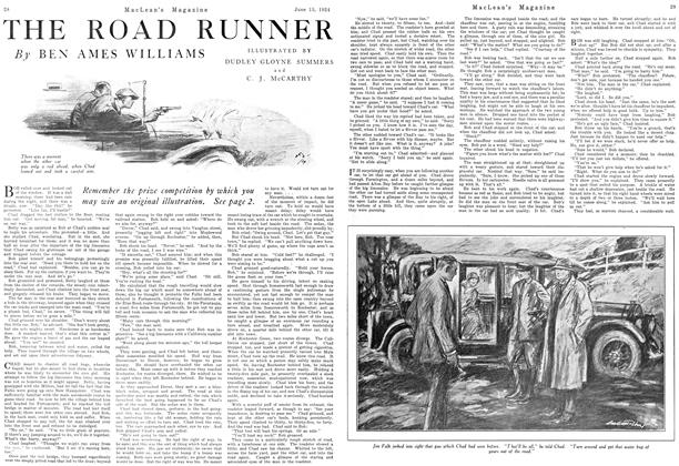 Article Preview: THE ROAD RUNNER, June 1924 | Maclean's