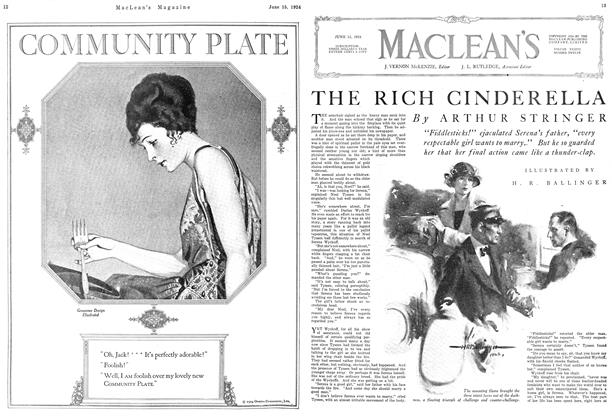 Article Preview: THE RICH CINDERELLA, June 1924 | Maclean's
