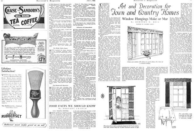 Article Preview: Art and Decoration for Town and Country Homes, JULY 1ST 1924 1924 | Maclean's