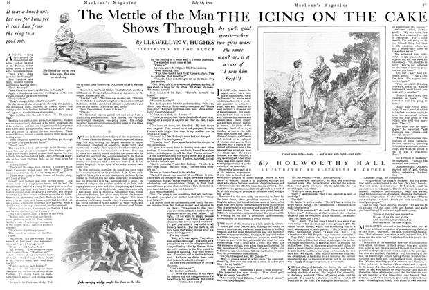 Article Preview: THE ICING ON THE CAKE, July 1924 | Maclean's