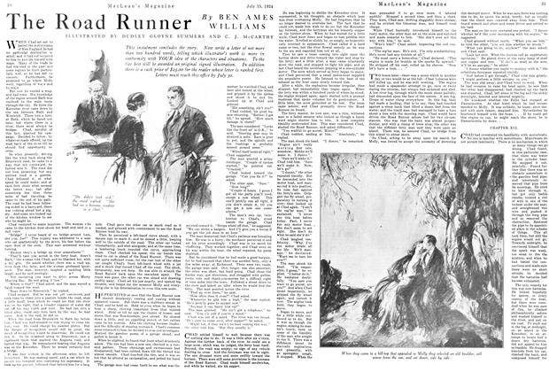 Article Preview: The Road Runner, July 1924 | Maclean's