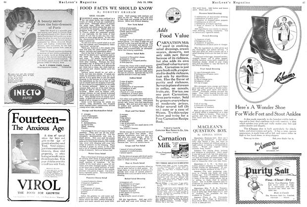 Article Preview: MACLEAN'S QUESTION BOX, July 1924 | Maclean's
