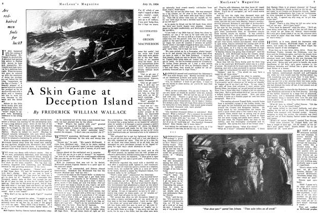 Article Preview: A Skin Game at Deception Island, July 1924 | Maclean's