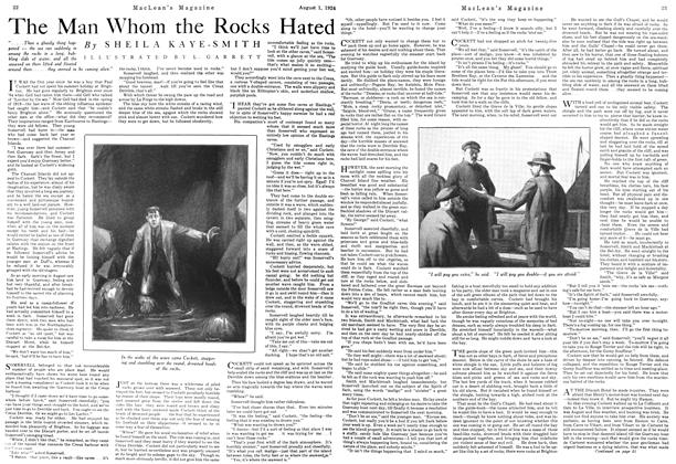 Article Preview: The Man Whom the Rocks Hated, August 1924 | Maclean's