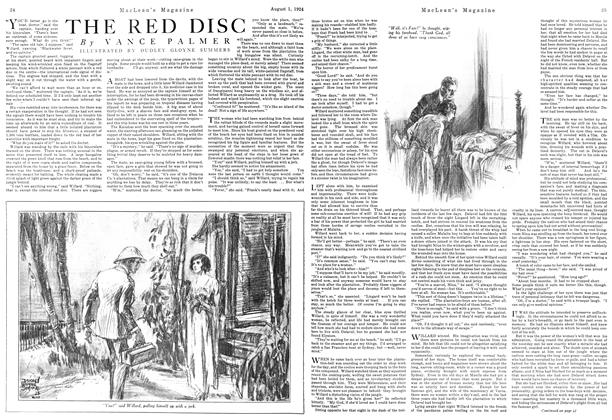 Article Preview: THE RED DISC, August 1924 | Maclean's