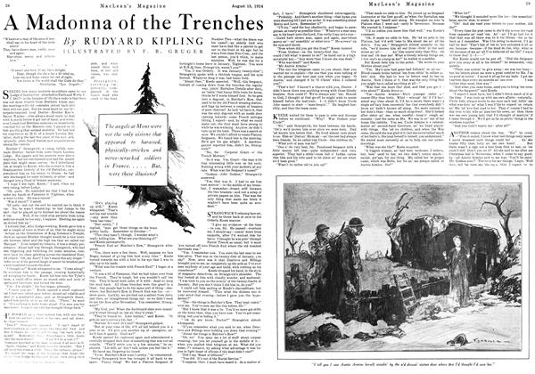 Article Preview: A Madonna of the Trenches, August 15th 1924 1924 | Maclean's