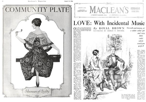 Article Preview: LOVE: With Incidental Music, August 15th 1924 1924 | Maclean's
