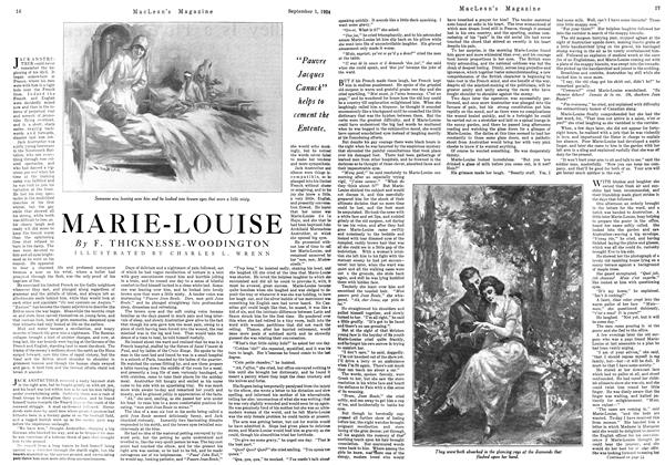 Article Preview: MARIE-LOUISE, September 1924 | Maclean's
