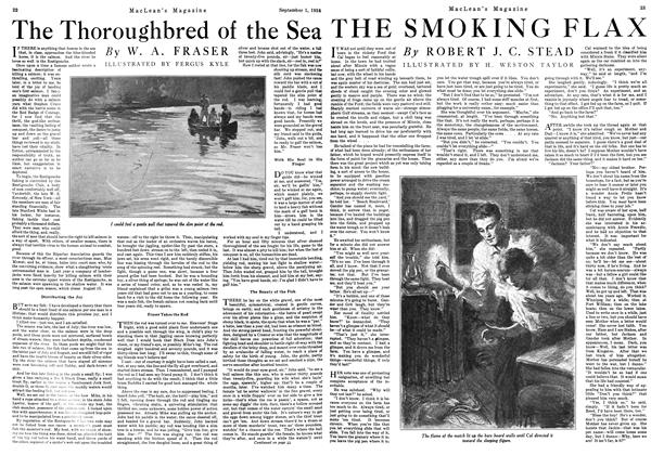 Article Preview: The Thoroughbred of the Sea, September 1924 | Maclean's