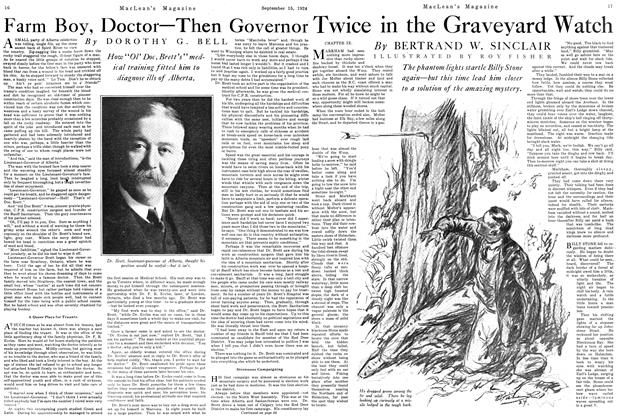 Article Preview: Farm Boy, Doctor—Then Governor, September 1924 | Maclean's