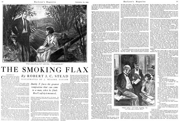 Article Preview: THE SMOKING FLAX, September 1924 | Maclean's