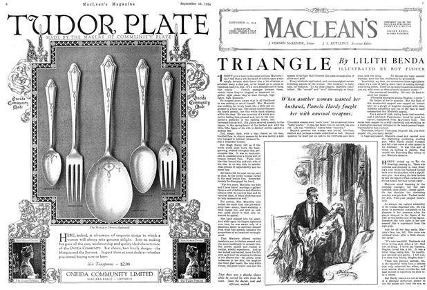 Article Preview: TRIANGLE, September 1924 | Maclean's