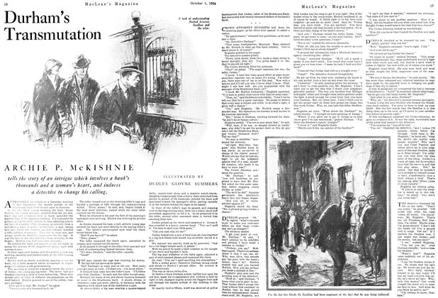 Article Preview: Durham's Transmutation, October 1924 | Maclean's
