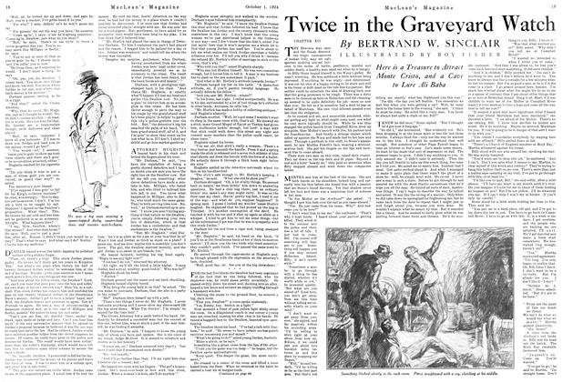Article Preview: Twice in the Graveyard Watch, October 1924 | Maclean's