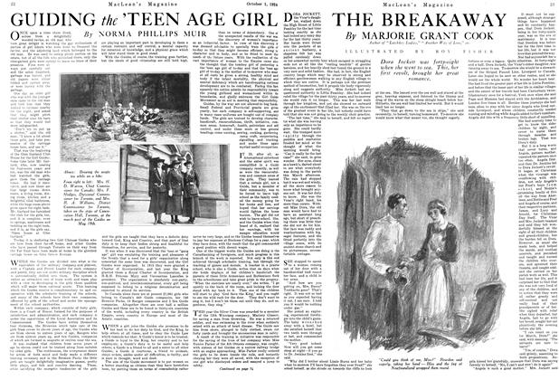 Article Preview: THE BREAKAWAY, October 1924 | Maclean's