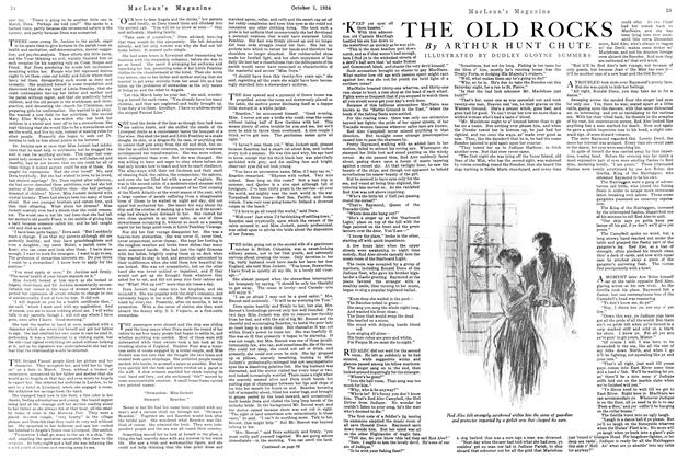 Article Preview: THE OLD ROCKS, October 1924 | Maclean's