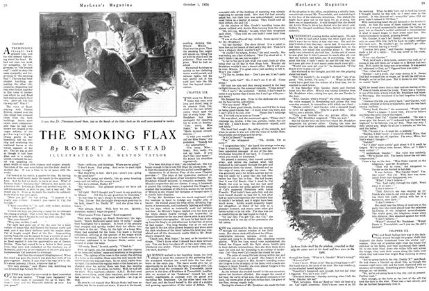 Article Preview: THE SMOKING FLAX, October 1924 | Maclean's