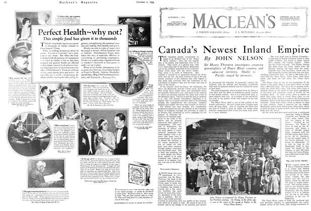 Article Preview: Canada's Newest Inland Empire, October 1924 | Maclean's