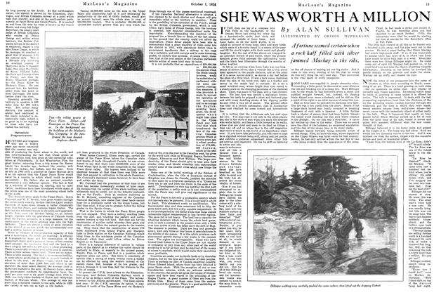 Article Preview: SHE WAS WORTH A MILLION, October 1924 | Maclean's