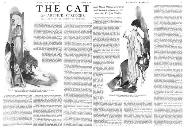 Article Preview: THE CAT, October 1924 | Maclean's