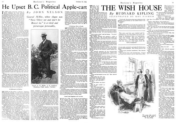 Article Preview: He Upset B. C. Political Apple-cart, October 1924 | Maclean's