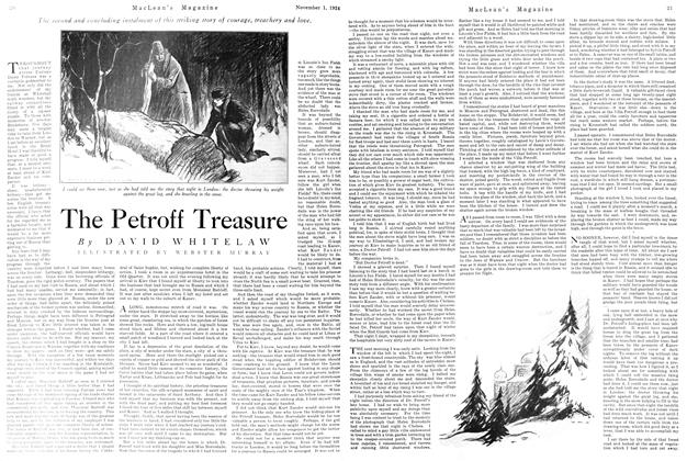 Article Preview: The Petroff Treasure, November 1924 | Maclean's