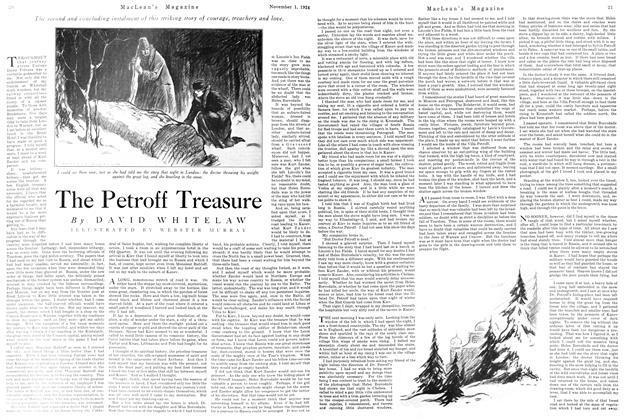 Article Preview: The Petroff Treasure, November 1924   Maclean's