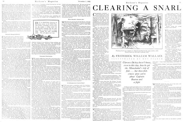 Article Preview: CLEARING A SNARL, November 1924 | Maclean's