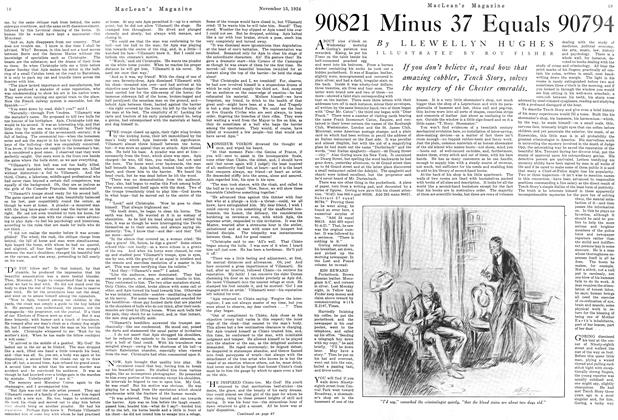 Article Preview: 90821 Minus 37 Equals 90794, November 1924 | Maclean's
