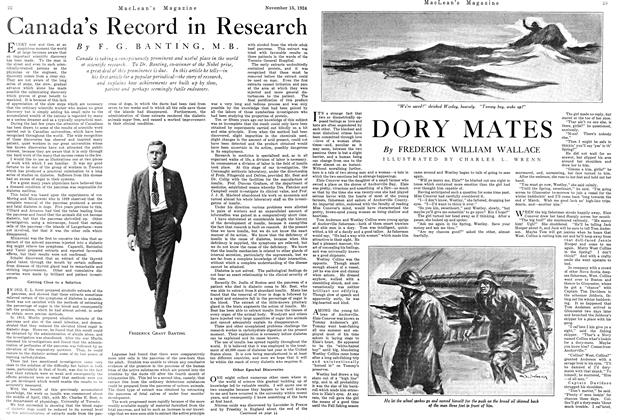 Article Preview: Canada's Record in Research, November 1924 | Maclean's