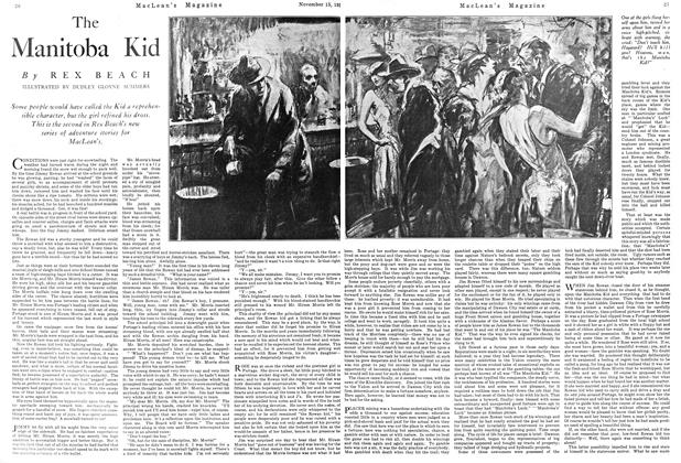 Article Preview: The Manitoba Kid, November 1924 | Maclean's